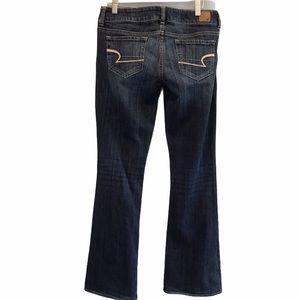 American Eagle Artist women's blue flare jeans 6